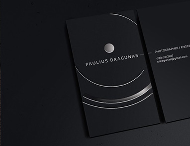 Spot UV Coated Business Cards